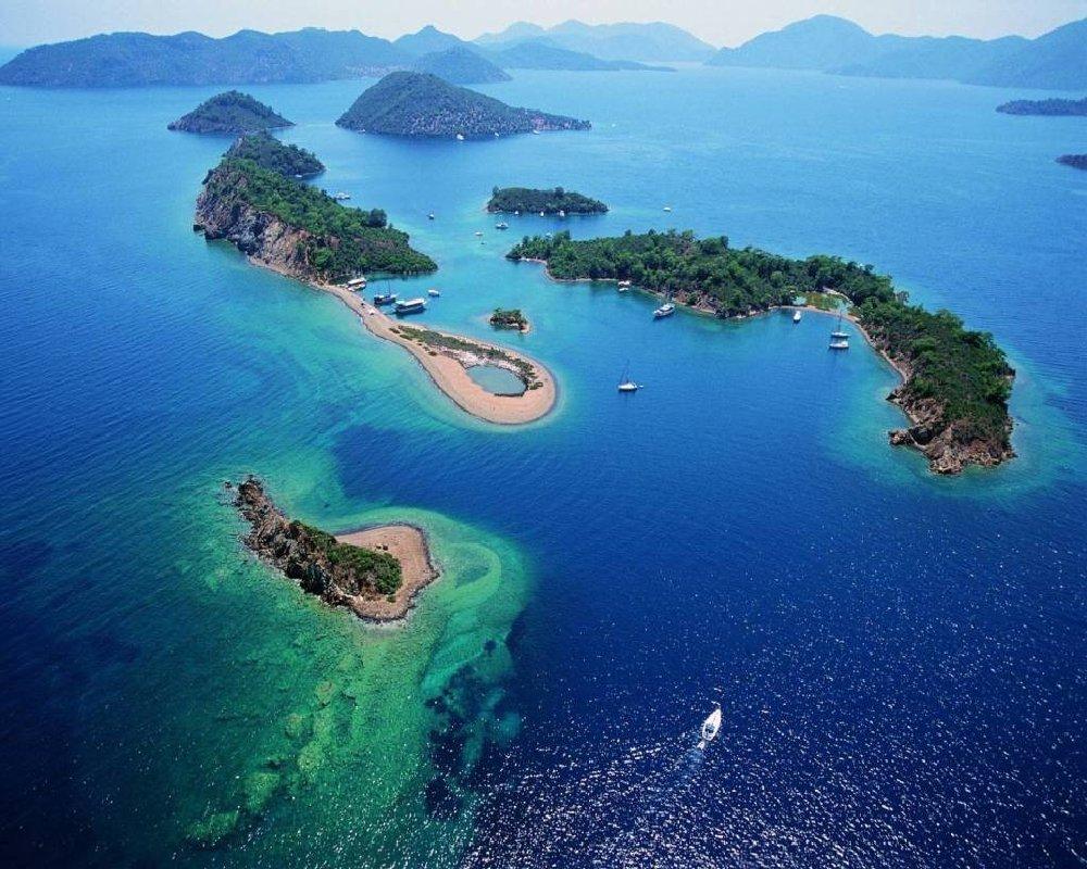 Bodrum çıkışlı Kuzey 12 Adalar Turu Resmi Büyüt