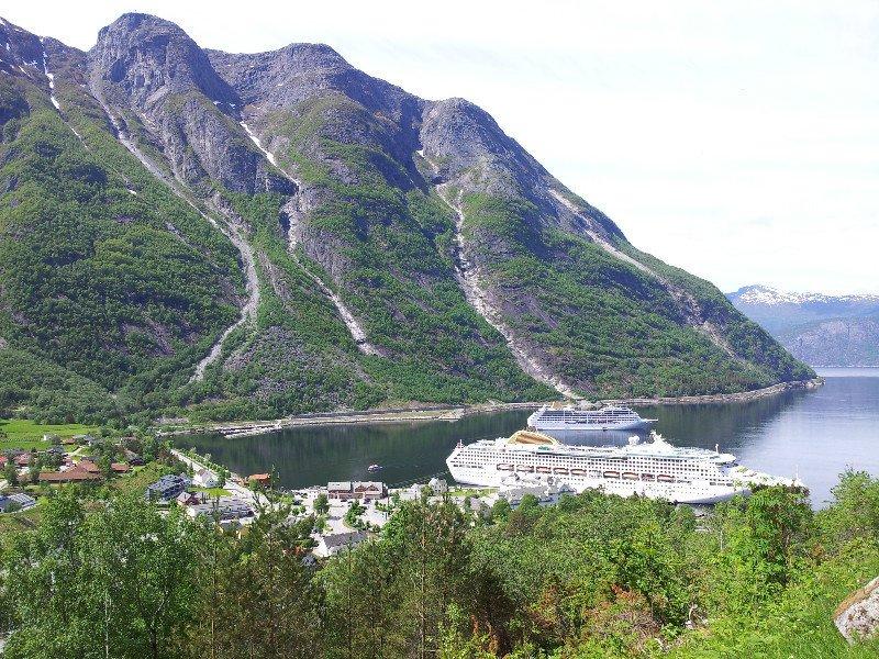 Eidfjord Limanı