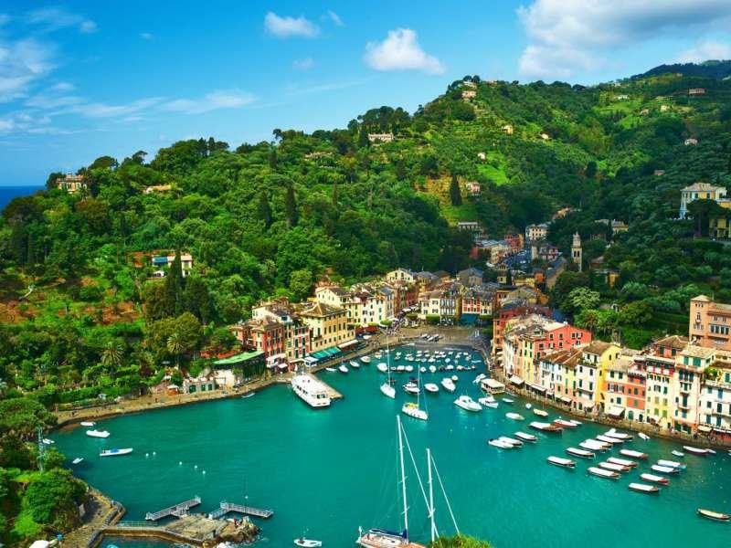 Portofino - İtalya Limanı