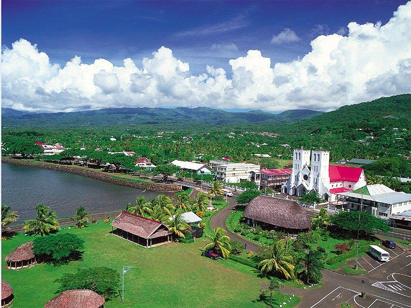 Apia Western Samoa Limanı