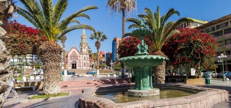 Arica,Chile Limanı