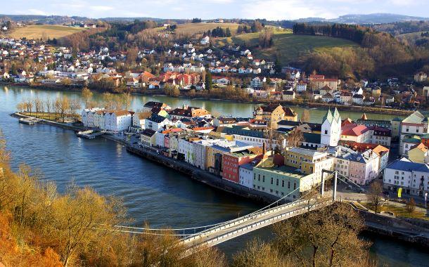 Passau - Almanya Çıkış Limanı