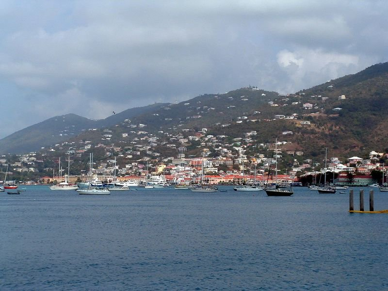Saint Thomas - Virgin Adaları Limanı