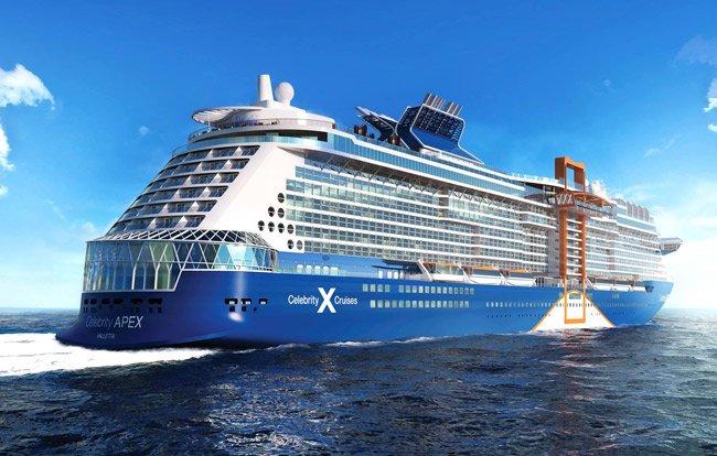 Yeni Gemi Celebrity Apex ile Batı Avrupa Gemi Turu cruise gemi turları