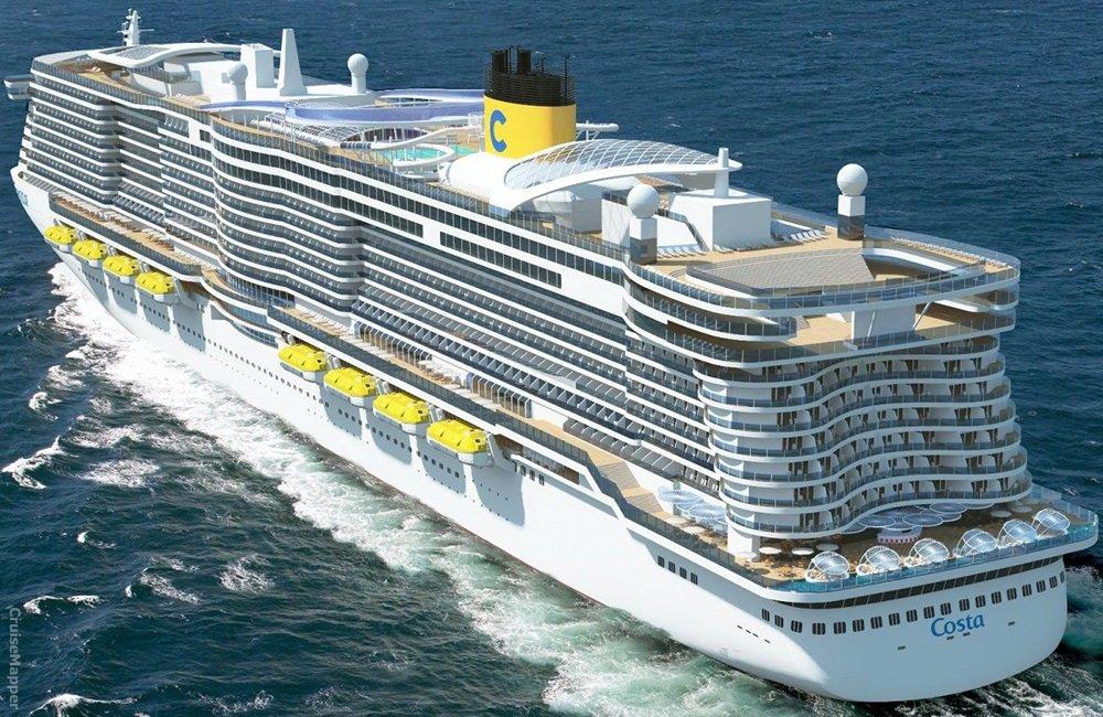 Costa Smeralda ile Batı Akdeniz  cruise gemi turları