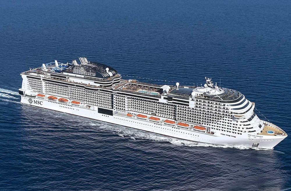 Msc Grandiosa ile Akdeniz Paket Gemi Turu  cruise gemi turları