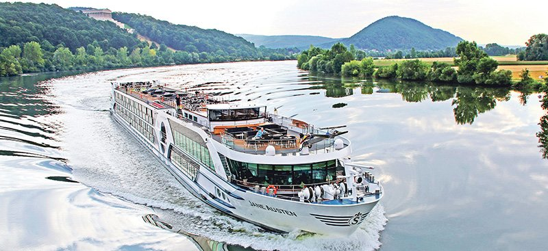 Jane Austen ile Paris, Normandiya Seine Nehri cruise gemi turları