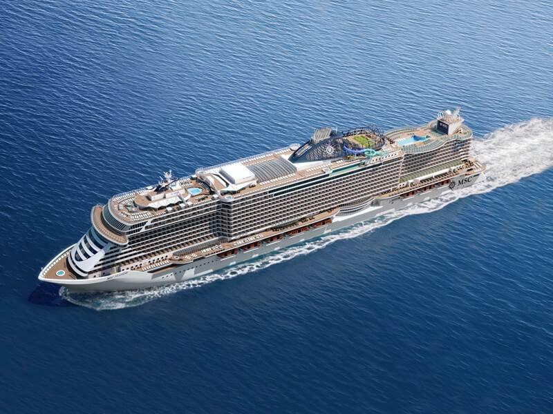 Msc Bellissima ile Akdeniz Gemi Turu cruise gemi turları