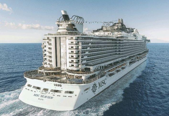 Msc Seaview ile Akdeniz Gemi Turu  cruise gemi turları