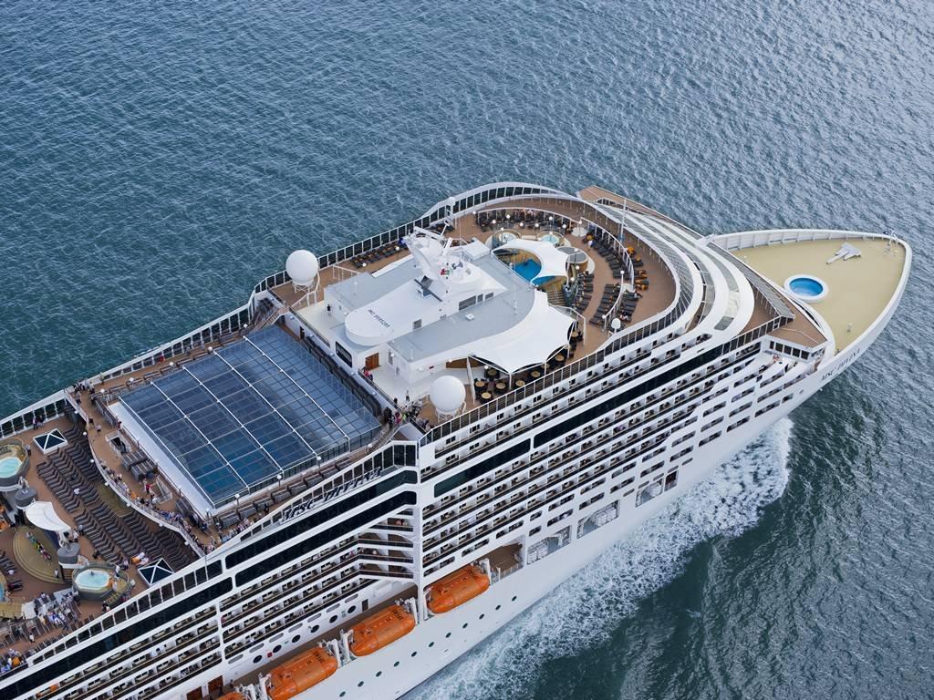 Msc Divina ile Batı Akdeniz  cruise gemi turları