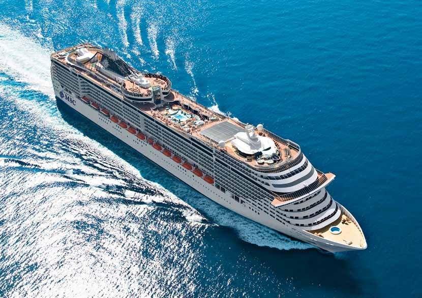 Msc Fantasia ile Brezilya Rio Karnavalı Gemi Turu cruise gemi turları