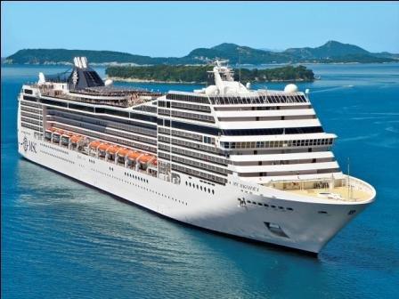 Msc Magnifica ile Batı Akdeniz Gemi Turu cruise gemi turları