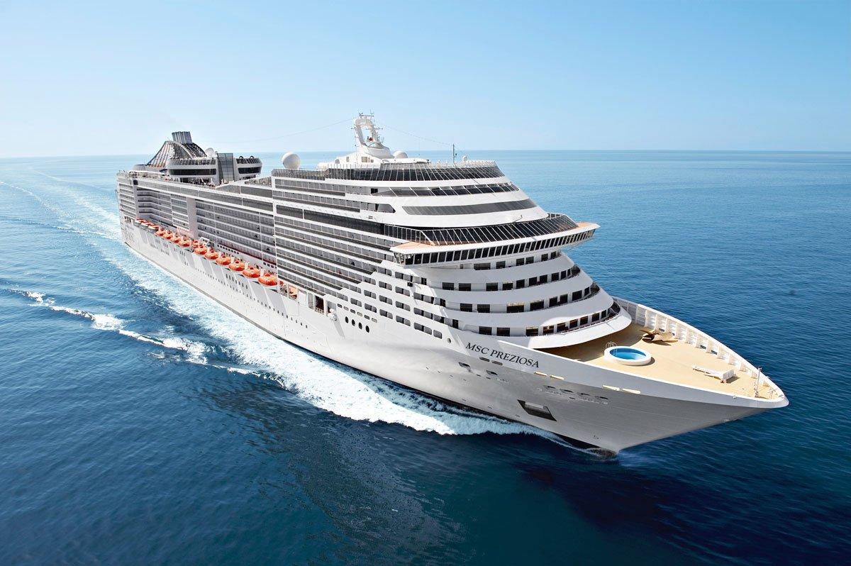 Msc Preziosa ile Fiyortlar ve Kuzey Kutup Dairesi Gemi Turu cruise gemi turları
