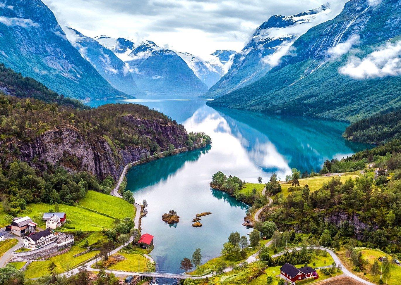 Msc Splendida ile Baştan Sona Norveç Fiyortları Gemi Turu Resim Büyüt