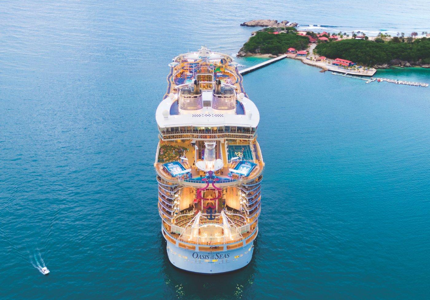 Oasis of the Seas ile Batı Karayipler cruise gemi turları