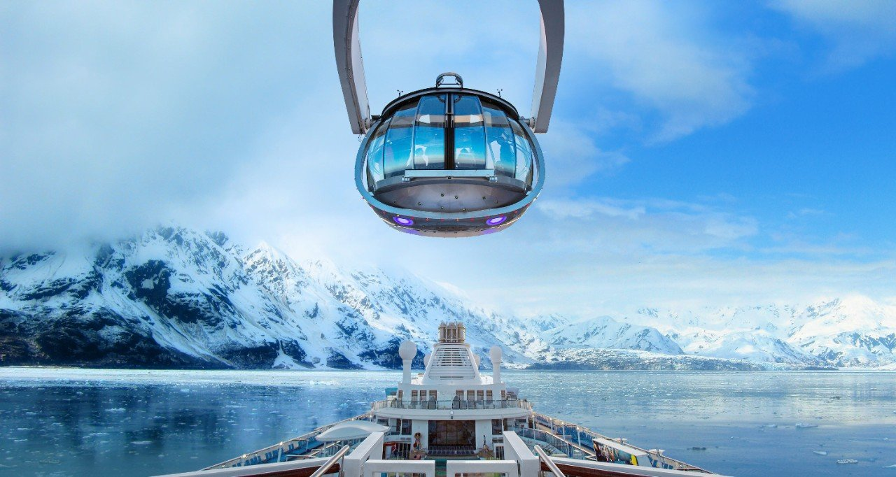 Ovation of the Seas ile Alaska Gemi Turu Cruise Turu