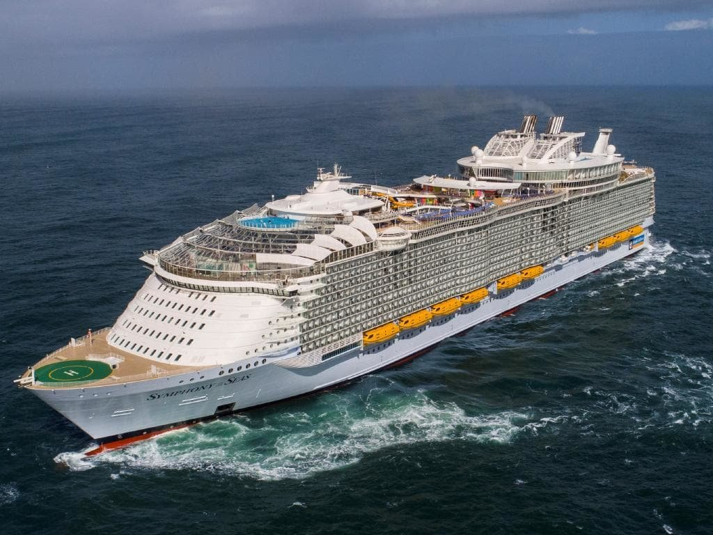 Symphony of the Seas Gemisi